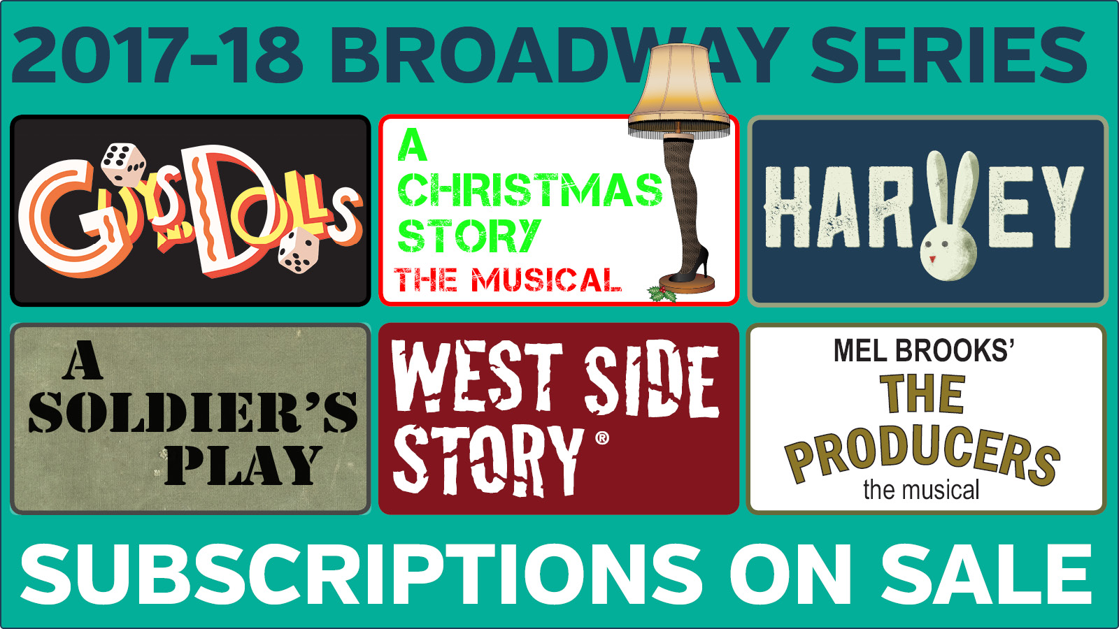 Subscriptions On Sale Now for 2017-18 Broadway Series