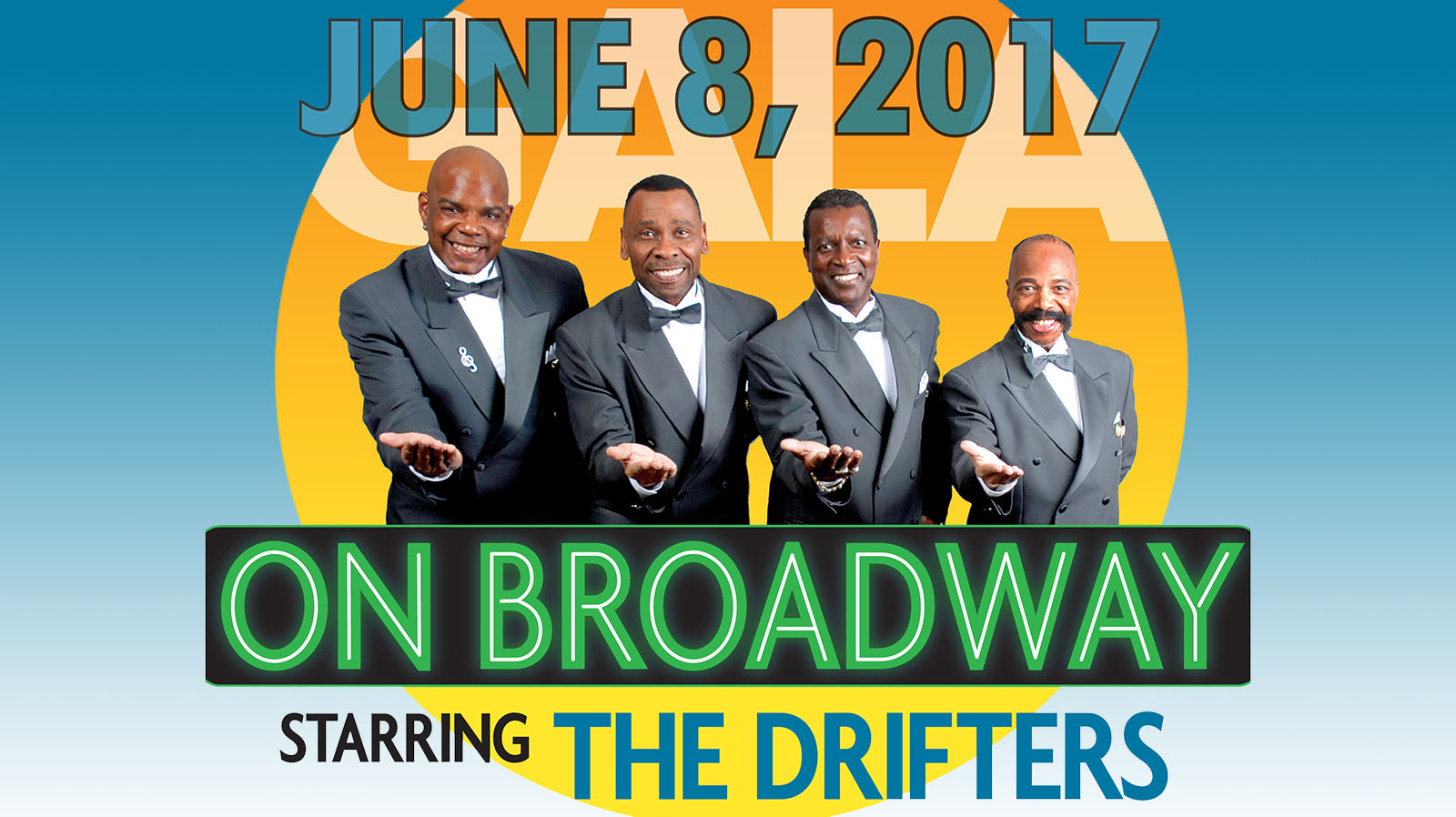 Rock & Roll Hall of Famers The Drifters To Headline Algonquin Arts Theatre Gala